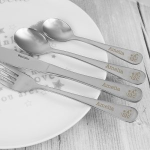 ABC First Personalised Cutlery Set