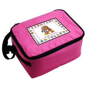 Animal Alphabet Personalised Lunch Box