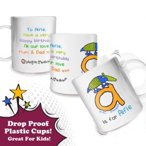 Boys Personalised Plastic Mug