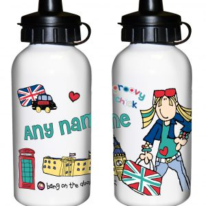 London Chick Personalised Water Bottle