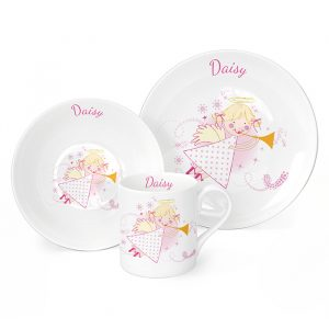 Angel Personalised Breakfast Set