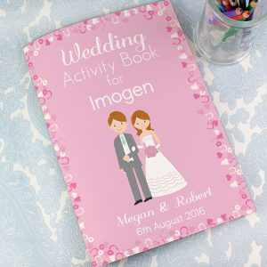 Personalised Wedding Activity Book