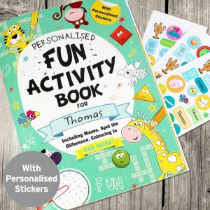 Personalised Activity Book with Stickers