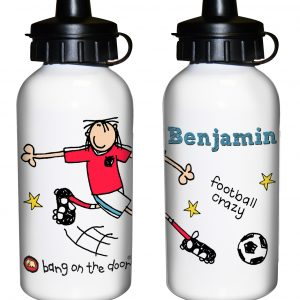 Football Crazy Personalised Drinks Bottle