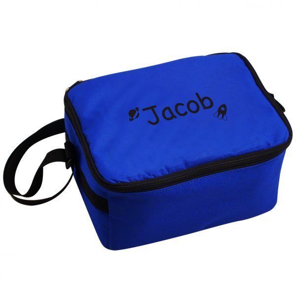 Space Themed Personalised Lunch Bag