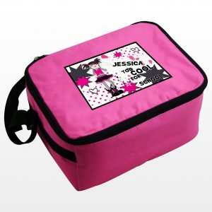 Cool Girls Personalised Lunch Box