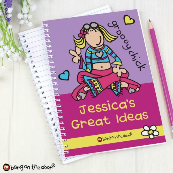 Personalised Girls A5 Notebook