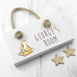 Personalised Door Sign - Guess How Much I Love You