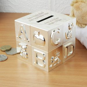 ABC Engraved Money Box