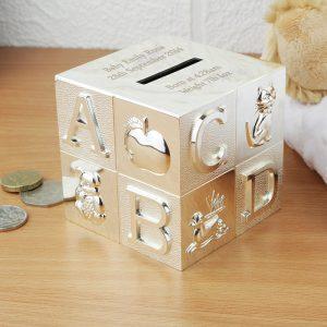 ABC Engraved Money Box
