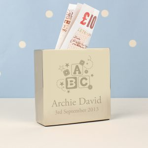 ABC Personalised Moneybox