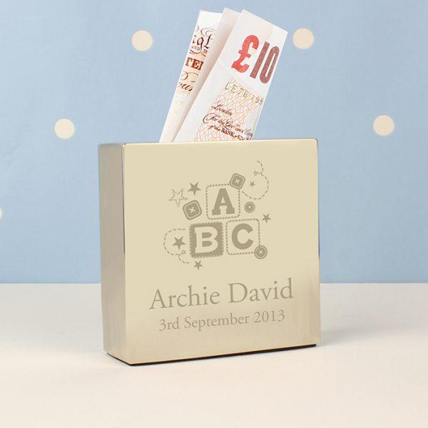 ABC Personalised Moneybox