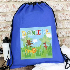 Animal Alphabet Personalised Kit Bag