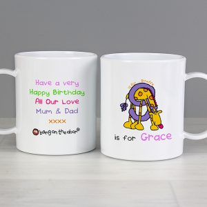 Animal Alphabet Plastic Mug
