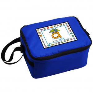 Animal Alphabet Personalised Lunch Box