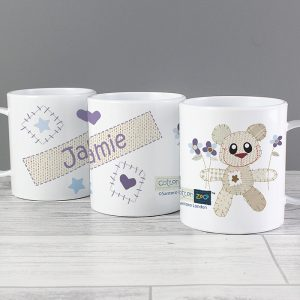 Bear Personalised Plastic Cup