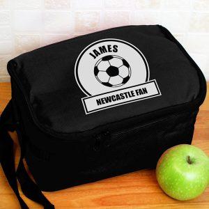 Black & White Football Lunch Box