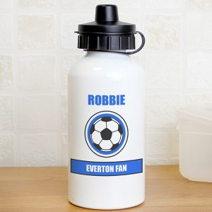 Blue Football Fan Drinks Bottle
