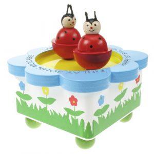 Dancing Ladybird Music Box