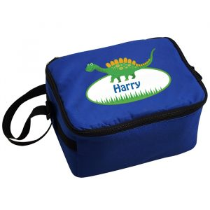Dinosaur Lunch Box Blue