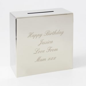 Engraved Money Box