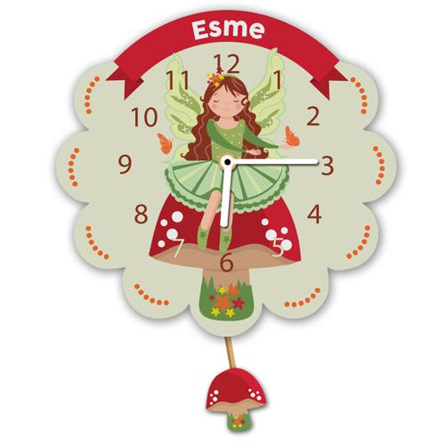 Fairy Personalised Clock