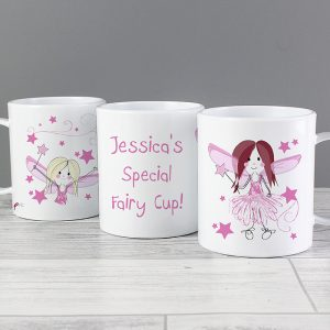 Fairy Personalised Plastic Mug