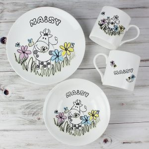 Farmyard Personalised Breakfast Set