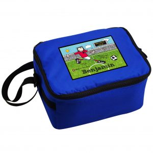 Personalised Football Crazy Lunch Bag