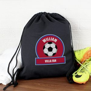 Claret & Blue Personalised Kit Bag