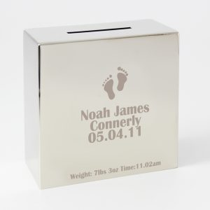 Footprint Personalised Money Box