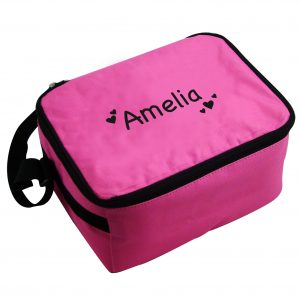 Girls Personalised Lunch Box
