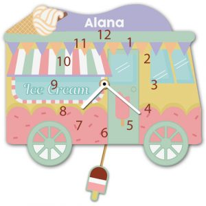 Ice Cream Van Clock