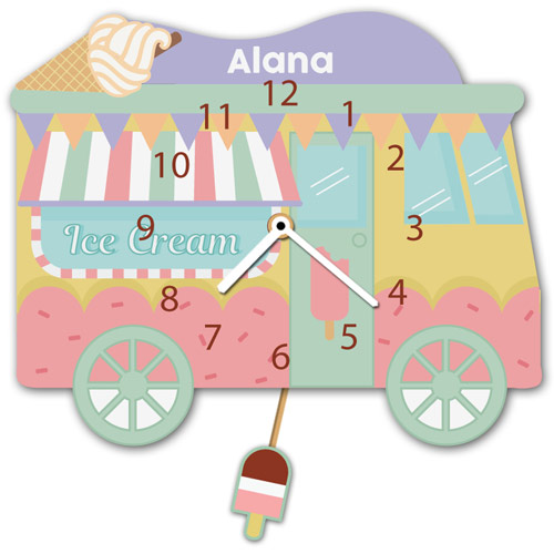 Ice Cream Van Clock