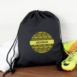 Khaki Camo Army Style Kit Bag