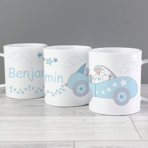 Little Monkey Personalised Plastic Mug