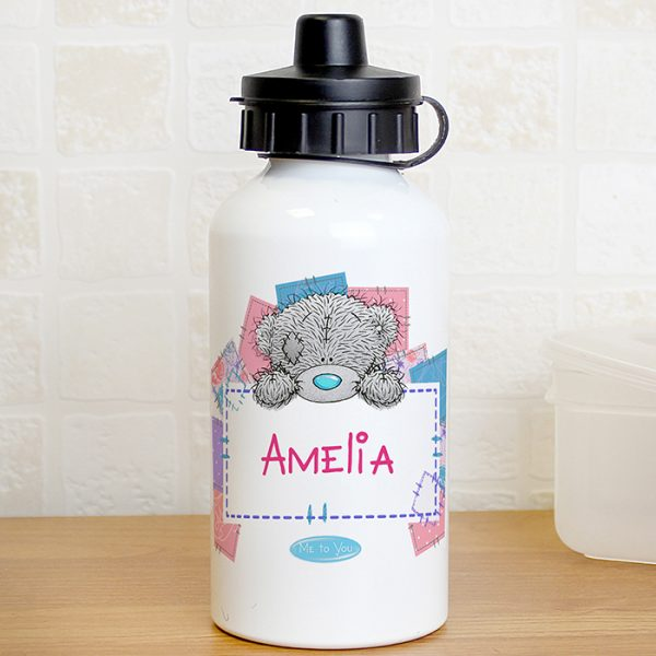 Me To You Personalised Water Bottle