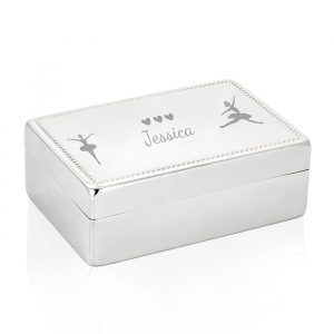 Personalised Ballerina Jewellery Box