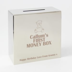 Personalised 1st Money Box