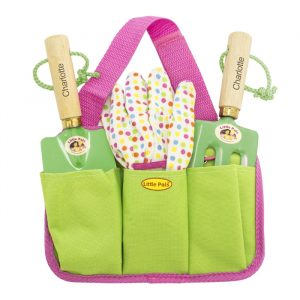 Personalised Girls Gardening Kit