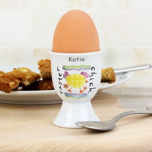 Personalised Easter Chick Egg Cup