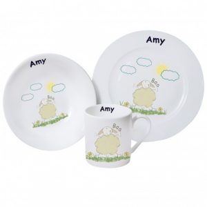 Baa Sheep Breakfast Set