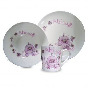 Pumpkin Carriage Breakfast Set