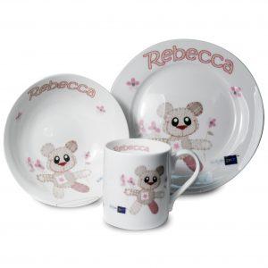 Teddy Bear Breakfast Set