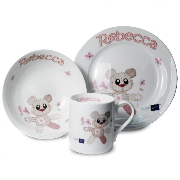 Teddy Bear Breakfast Set