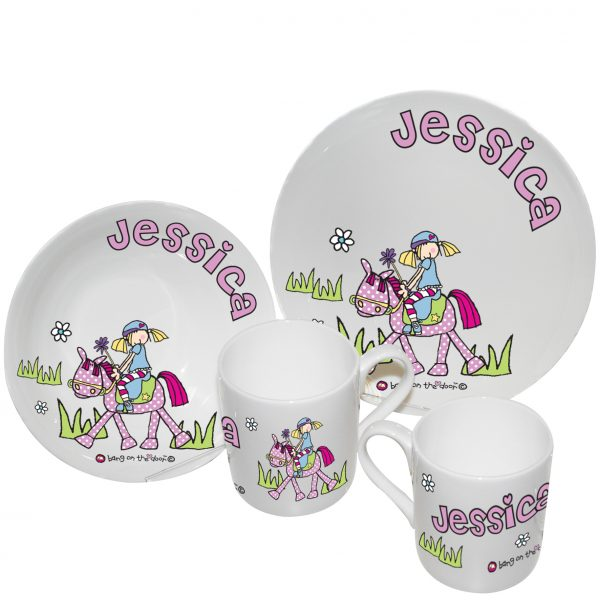 Pony Girl Breakfast Set
