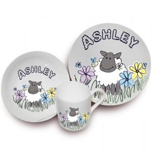 Sheep Breakfast Set