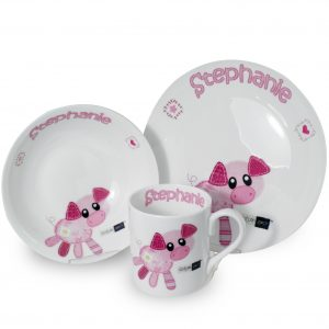 Piglet Breakfast Set