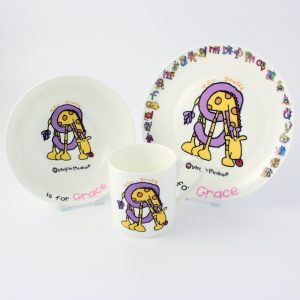 Animal Alphabet Breakfast Set