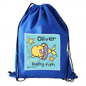 Personalised Baby Fish Swim Bag